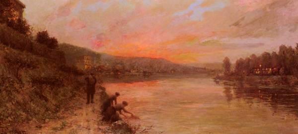 Soleil Levant Sur La Seine
